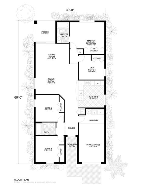 floor plans 30 x 60 30 x 60 square feet house plans