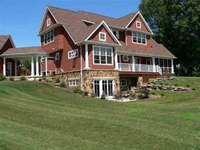 fresh country home plans with walkout basement the walk out basement hill set up home daydreams