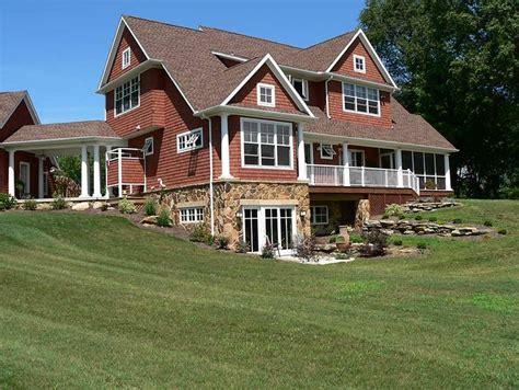 custom home design hartville ohio peninsula architects basement house plans country