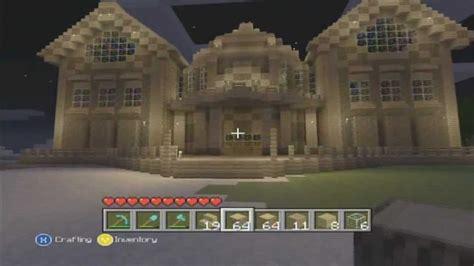 minecraft xbox  mansion mega build youtube