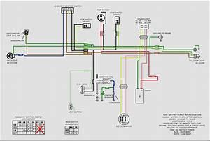 Qianjiang Scooter Wiring Diagram