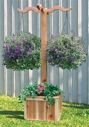 hanging planter box woodworking plan