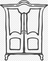 Closet Clipart Wardrobe Cartoon Armoire Bathroom Clip Library 1920 Transparent Dolap 1528 Wardrobes Cleanpng Armoires Contributor Message Send sketch template