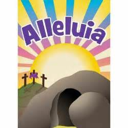 Easter Decorations, Garden Flags, Alleluia Easter Flag