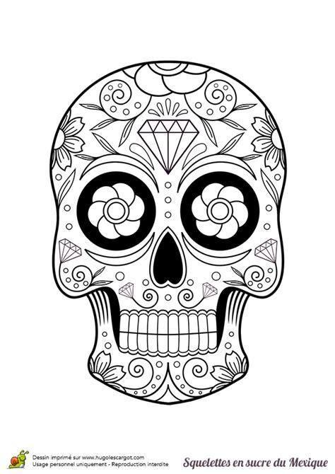 Calaveras Mexicanas Para Colorear Dibujos De SIMPLE HOME