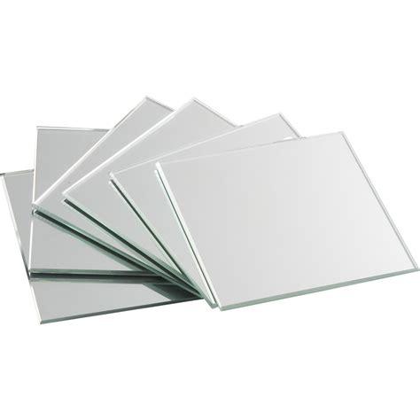 papier miroir adhesif leroy merlin lot de 4 miroirs non lumineux adh 233 sifs carr 233 s l 10 x l 10 5 cm leroy merlin