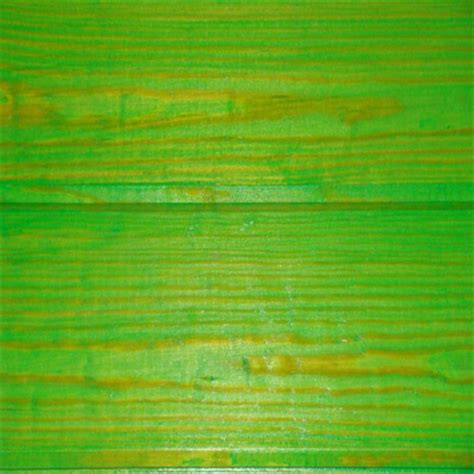 lime green wood stain into green stains