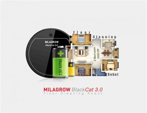 floor cleaning robot india milagrow launches blackcat 3 0 floor cleaning robot in india