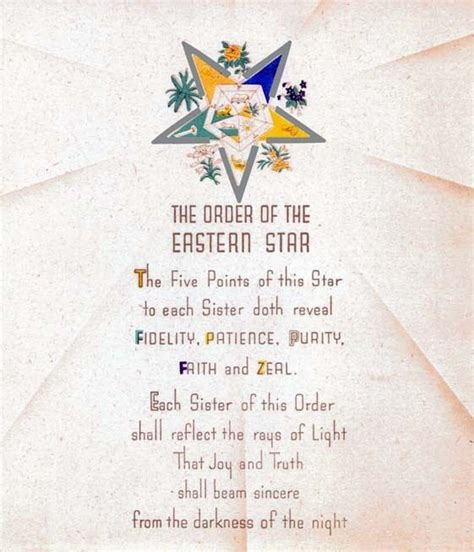 Eastern Star Sisterhood Quotes