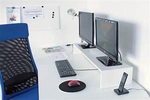 Doppel Schreibtisch Ikea : doppel monitorst nder f r galant schreibtisch galant schreibtisch ikea m bel apps shop ~ Markanthonyermac.com Haus und Dekorationen