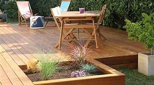Lame De Bois Pour Terrasse : faire une terrasse sur lambourdes ~ Melissatoandfro.com Idées de Décoration