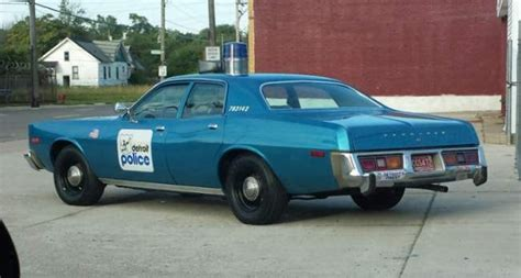 Each Detroit Precinct Had A Set Number Of Scout Cars