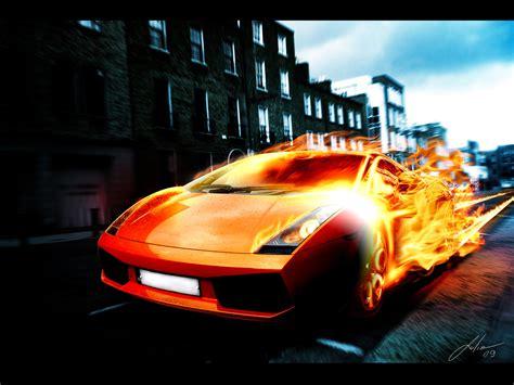Lambo Fire By Julioleite On Deviantart