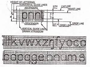 Engineering Drawing  Technical Lettering