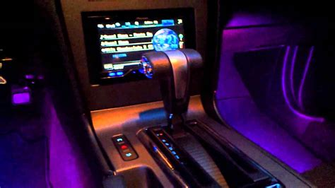 quot audi style quot led lights led glow interior lights 2011