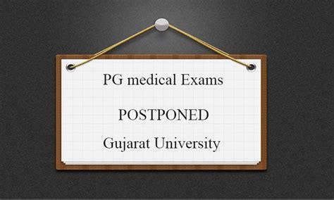 Gujarat University Postpones PG Medical Exams amidst ...