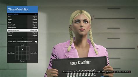 Attractive Female Character Creation (german