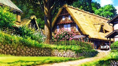 country cottage wallpaper awesome country cottage hd wallpaper for desktop
