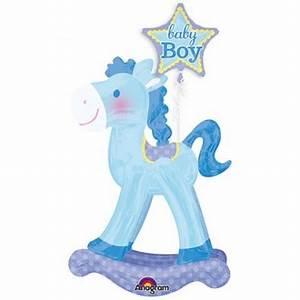 Cheval à Bascule Bebe : ballon g ant en forme de cheval bascule b b baby boy ~ Teatrodelosmanantiales.com Idées de Décoration