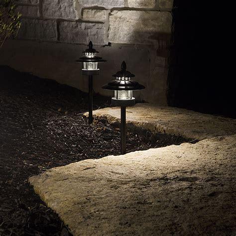 led landscape path lights dual tier 4 watt aluminum