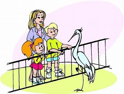 Zoo Clip Clipart Entrance Cartoon Cliparts Park