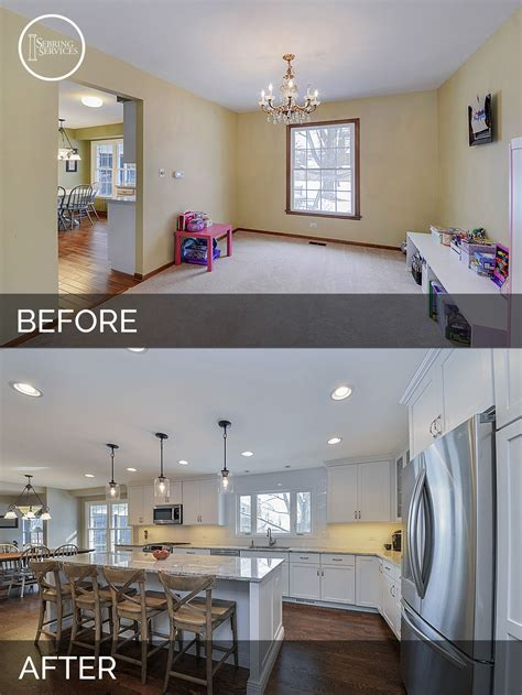 home design before and after s kitchen before after pictures kitchens