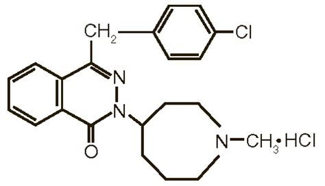 dailymed azelastine hydrochloride azelastine
