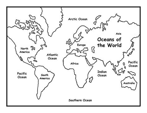 printable world map coloring pages world map