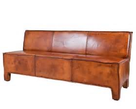 brown leather sofa lifestyle aspen dining sofa brown leather eetkamerbanken lifestyle leer landelijke