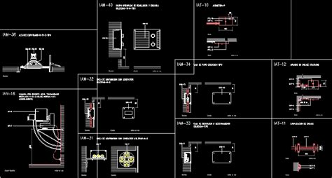 Planes Dwg Detail For Autocad