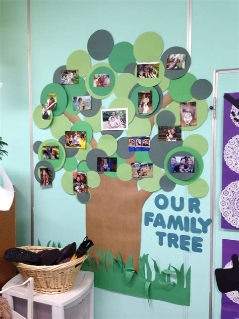 family tree bulletin board ideas for preschool school family photo wall i made this for my classroom to 615