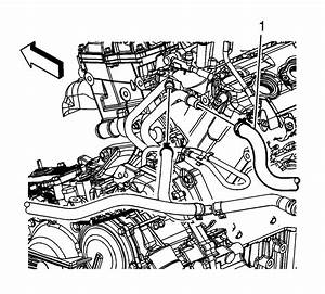 Repair Instructions - Heater Inlet Pipe Replacement  Rpo Ly7  - 2008 Chevrolet Equinox