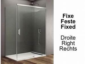 paroi de douche accessoires largeur 70 longueur 70 180 With largeur porte de douche