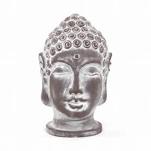 Buddha Figuren Deko : deko figur buddha kopf gro 26cm 1 st ck 8 99 ~ Indierocktalk.com Haus und Dekorationen