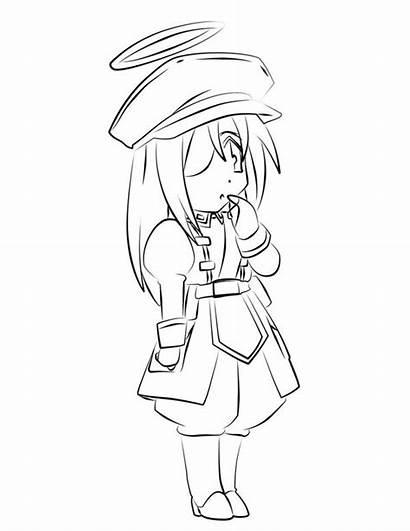 Chibi Coloring Characters Netart