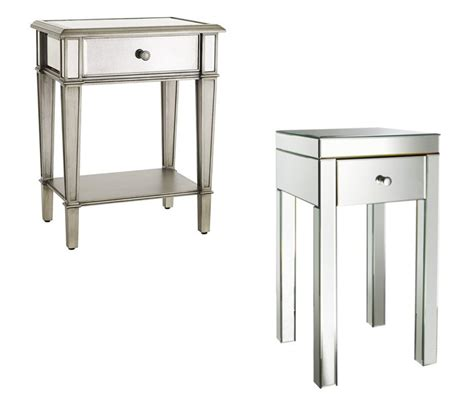 Bedroom Nightstands On Sale by Mirror Tables Mirrored Nightstands On Sale Mirrored