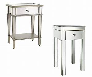 design mirrored nightstands » Home Decorations Insight