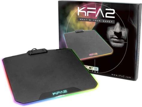 kfa2 s attaque aux tapis de souris avec le snpr rgb claviers souris tapis de souris