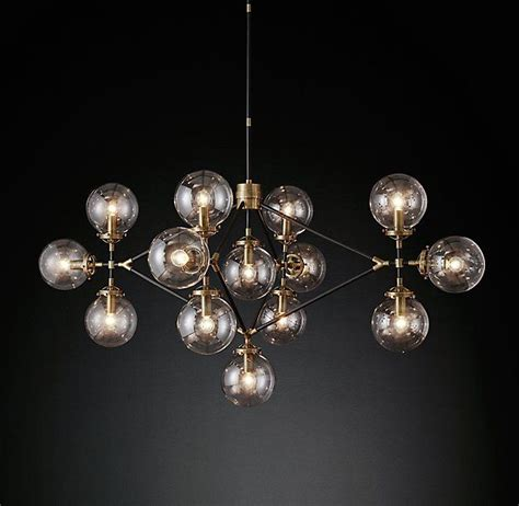 bistro globe clear glass lattice chandelier light up my