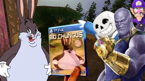 Big Chungus Game Made By Soulja Boy! [real Big Chungus 3d