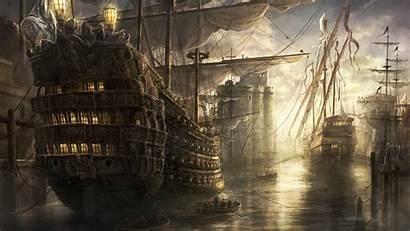 Wallpapers Ships Medieval Desktop Ship War Fantasy