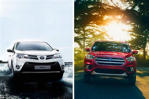 Ford Escape Vs Toyota Rav4 by 2017 Ford Escape Vs 2017 Toyota Rav4 Auto Review Hub