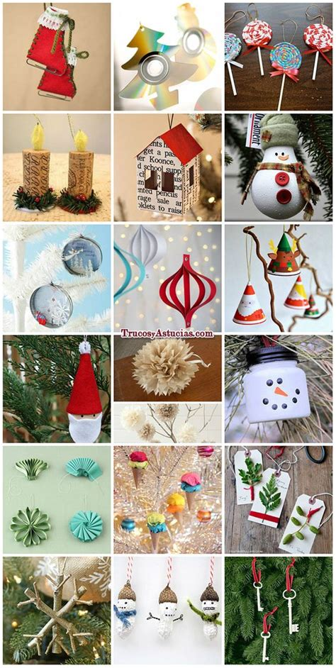 3 ideas para decorar tu 225 rbol de navidad manualidades muy