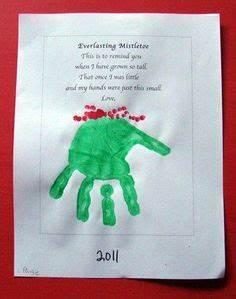 1000 ideas about Mistletoe Footprint on Pinterest