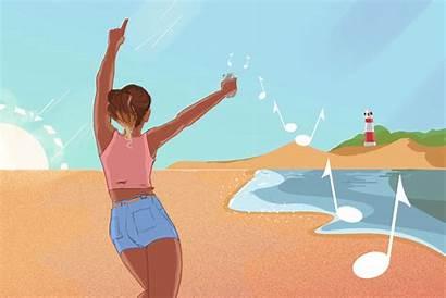 Summer Animated Season Bay Songs Cord Chaos