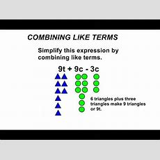 Combining Like Terms On Vimeo