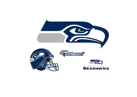 small seattle seahawks logo teammate decal shop