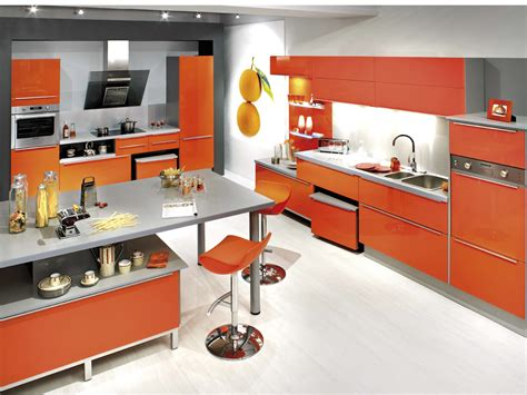 meuble cuisine emejing meuble cuisine orange ideas awesome interior