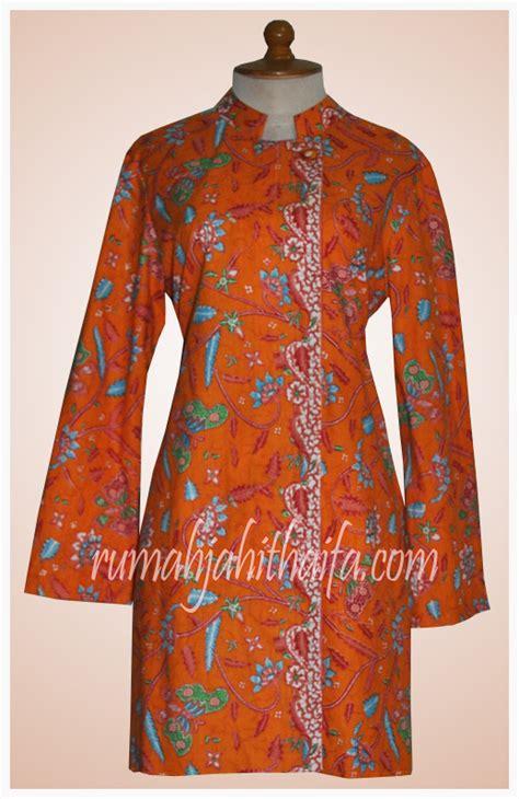 model jahitan baju blazer batik rumah jahit haifa