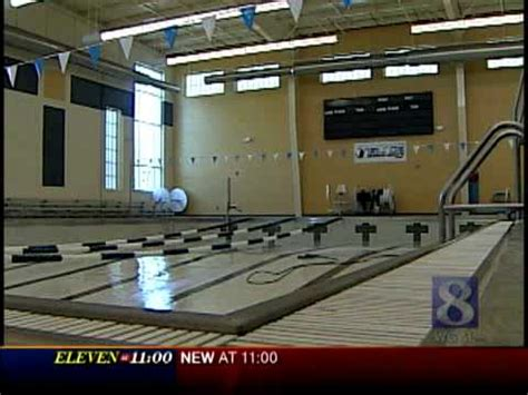 video water drains  ymca pool overnight youtube